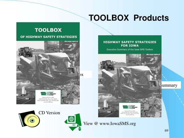 TOOLBOX  Products