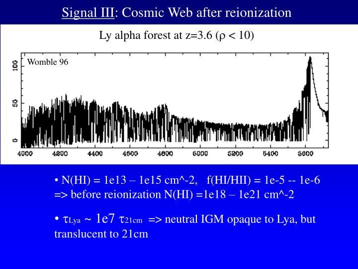 Signal III