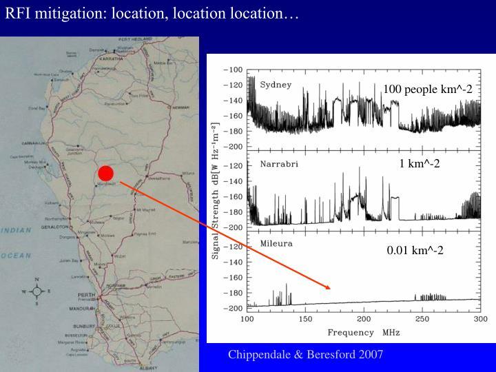 RFI mitigation: location, location location…