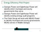 energy efficiency pilot project1