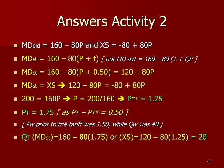 Answers Activity 2