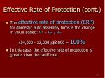effective rate of protection cont1