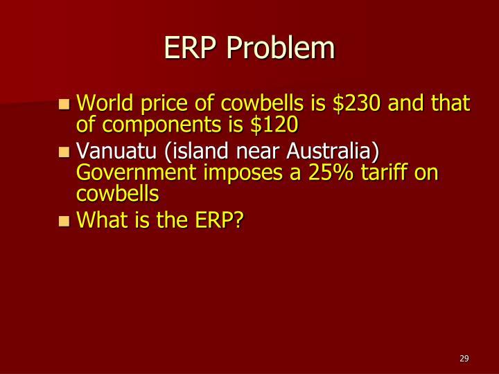 ERP Problem