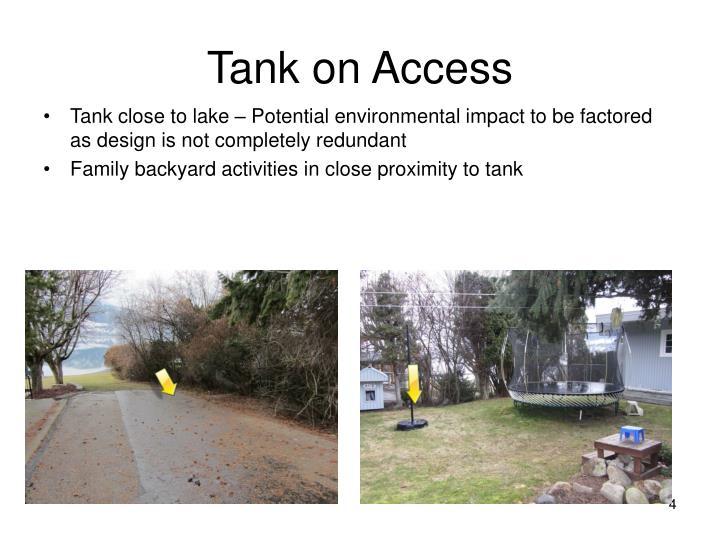 Tank on Access