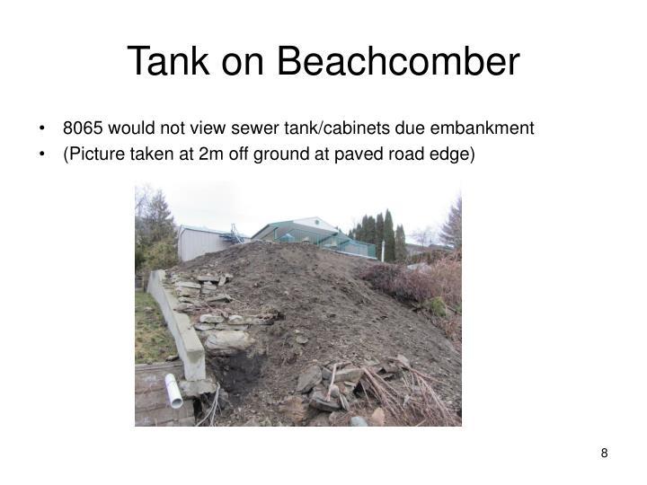 Tank on Beachcomber