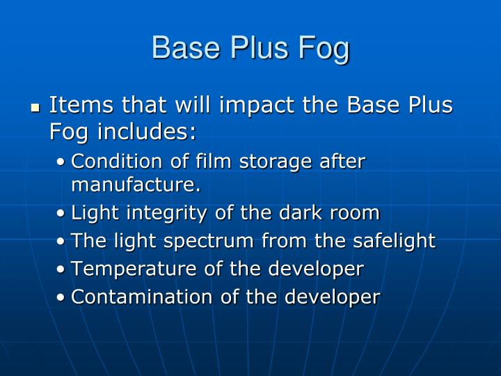 Base Plus Fog