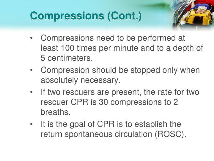 Compressions (Cont.)