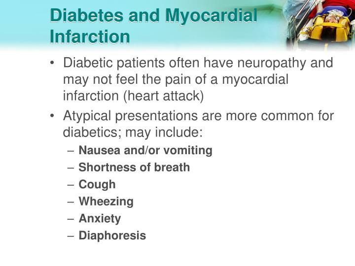 Diabetes and Myocardial Infarction