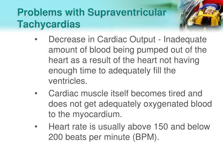 Problems with Supraventricular Tachycardias