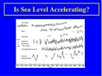 is sea level accelerating