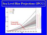 sea level rise projections ipcc