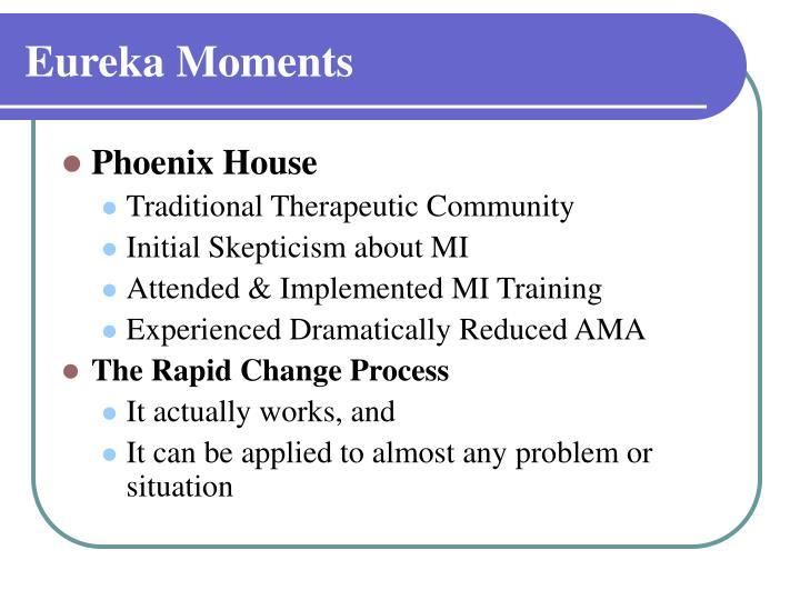 Eureka Moments