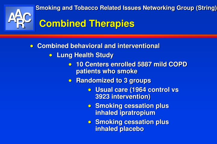 Combined Therapies