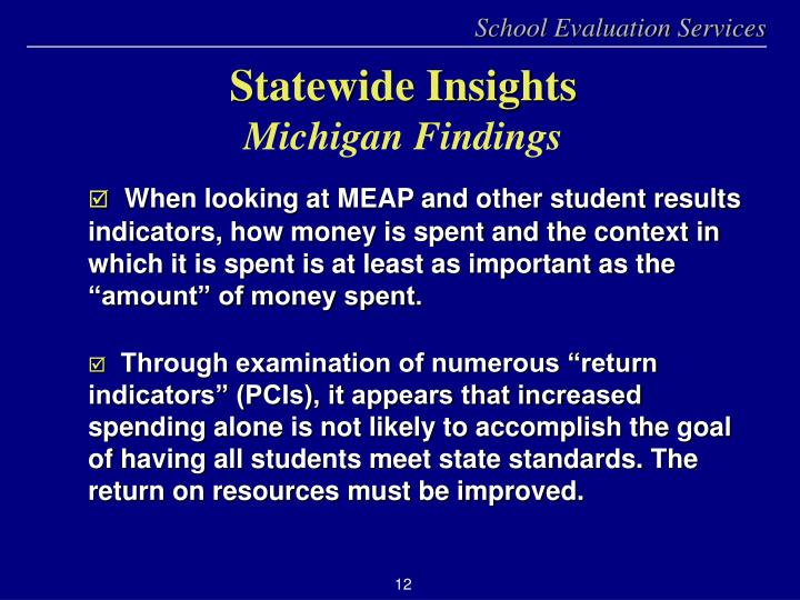 Statewide Insights