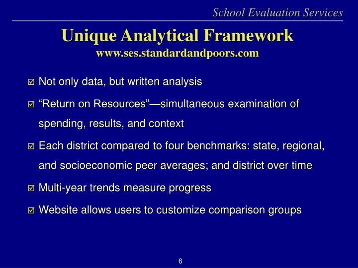 Not only data, but written analysis