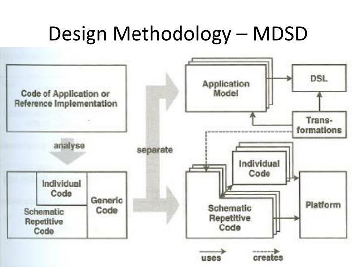 Design Methodology – MDSD