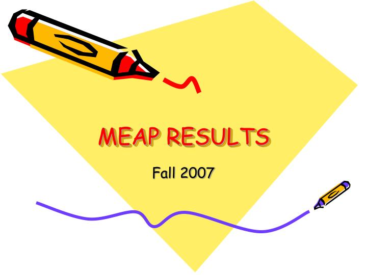 Meap results