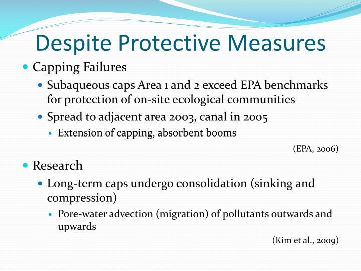 Despite Protective Measures
