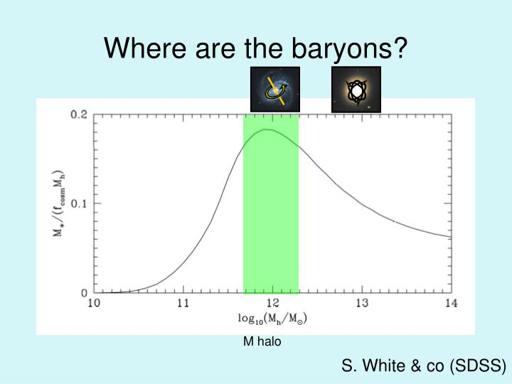 Where are the baryons?