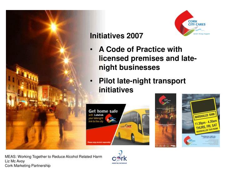 Initiatives 2007