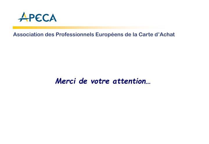 Association des Professionnels Européens de la Carte d'Achat
