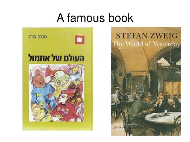 A famous book