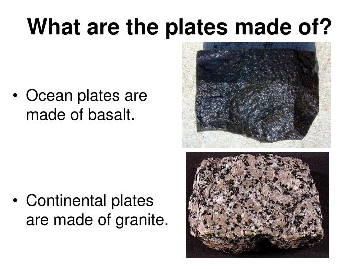 What are the plates made of?