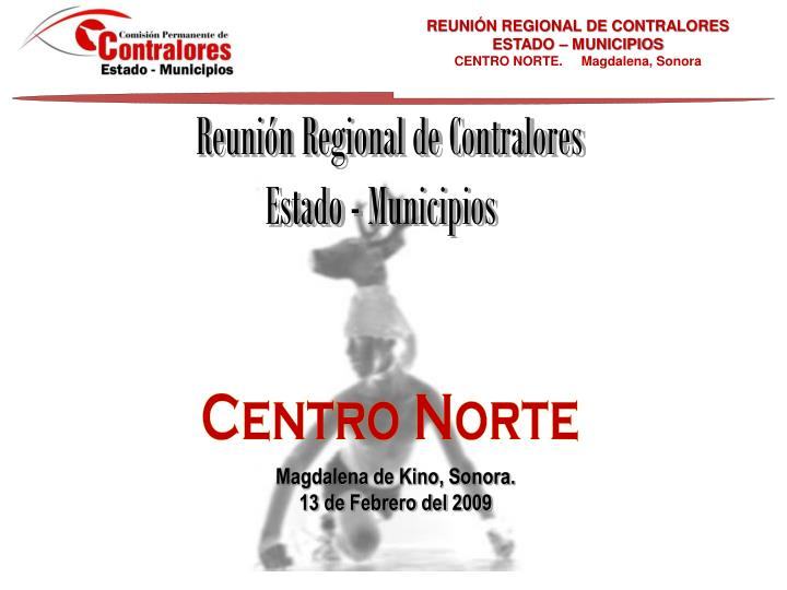 REUNIÓN REGIONAL DE CONTRALORES