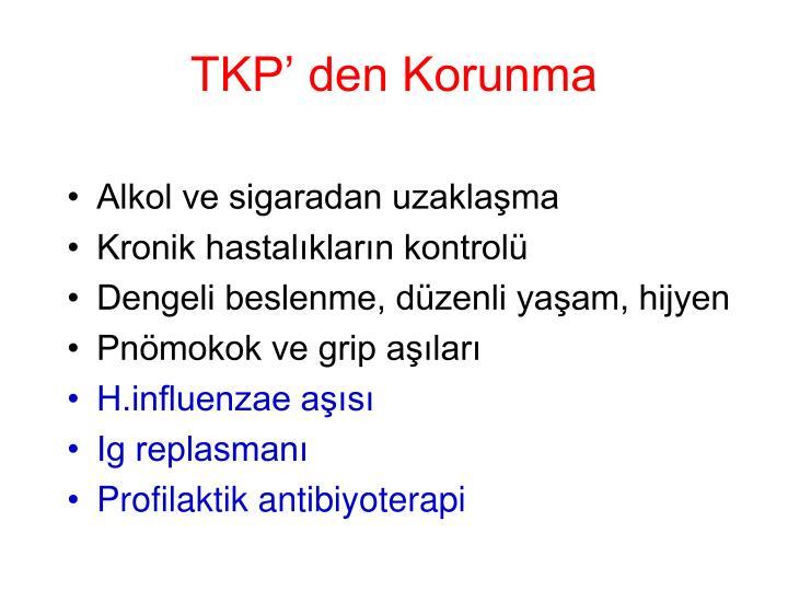 TKP' den Korunma