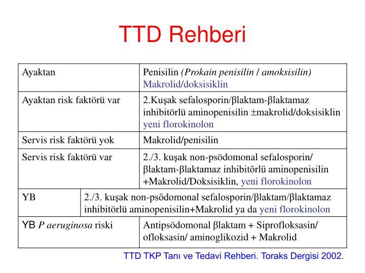 TTD Rehberi