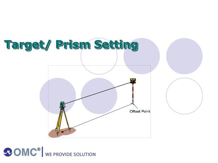 Target/ Prism Setting