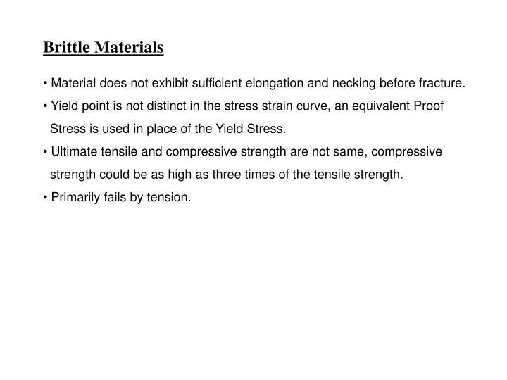 Brittle Materials