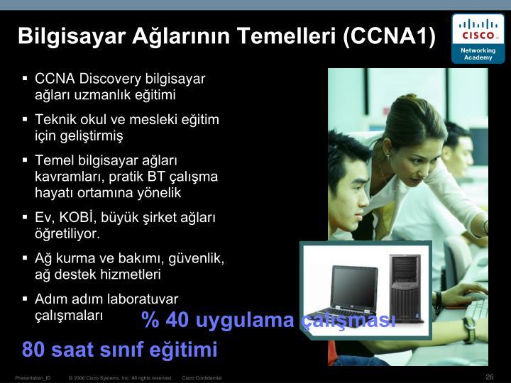 Bilgisayar Ağlarının Temelleri (CCNA1)
