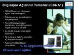 bilgisayar a lar n n temelleri ccna1