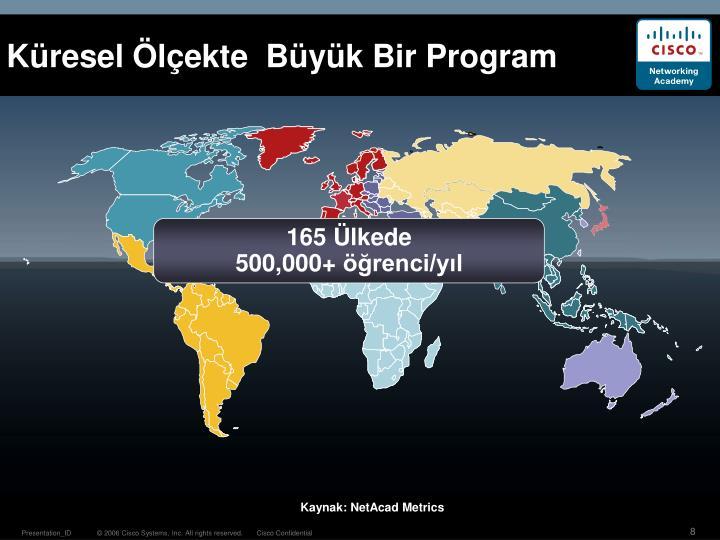 Küresel Ölçekte  Büyük Bir Program