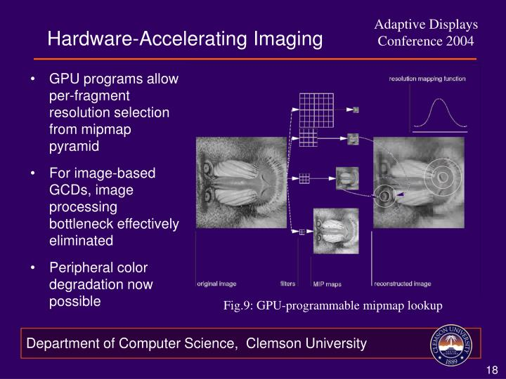 Hardware-Accelerating Imaging