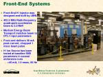 front end systems
