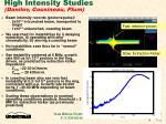 high intensity studies danilov cousineau plum
