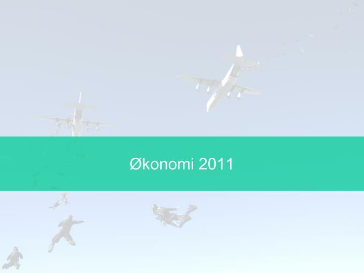 Økonomi 2011