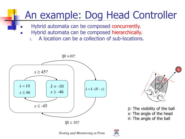 An example: Dog Head Controller