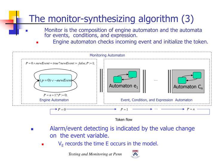 Monitoring Automaton