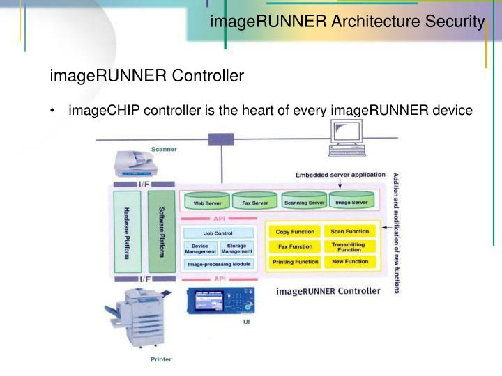 imageRUNNER Architecture Security