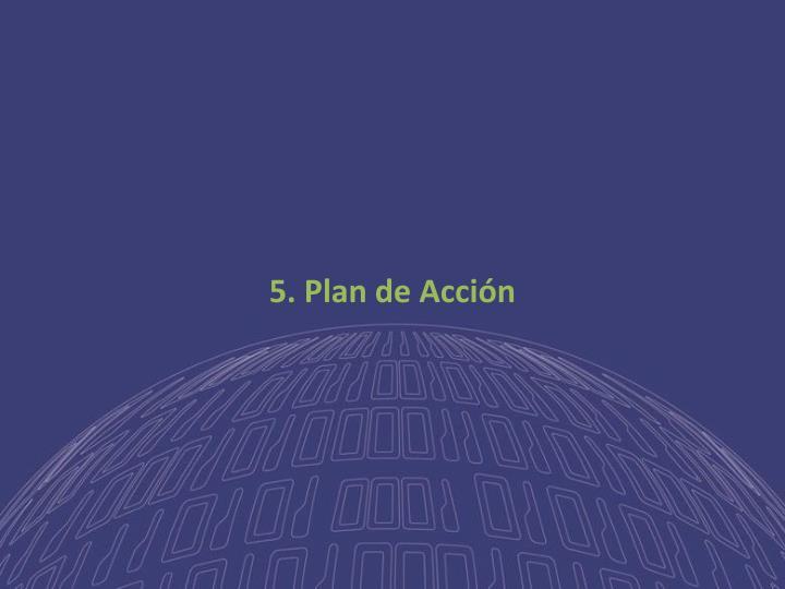 5. Plan de Acción