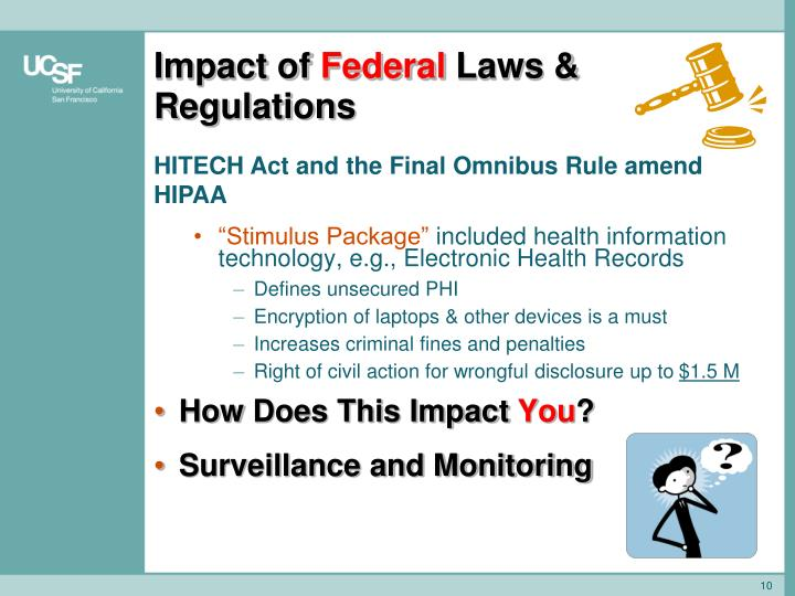 impact of federal and state compliance laws The federal register notice explains the legal issues and basis for the proposal, and provides information about how interested persons can submit written data, views, or arguments on the proposal.
