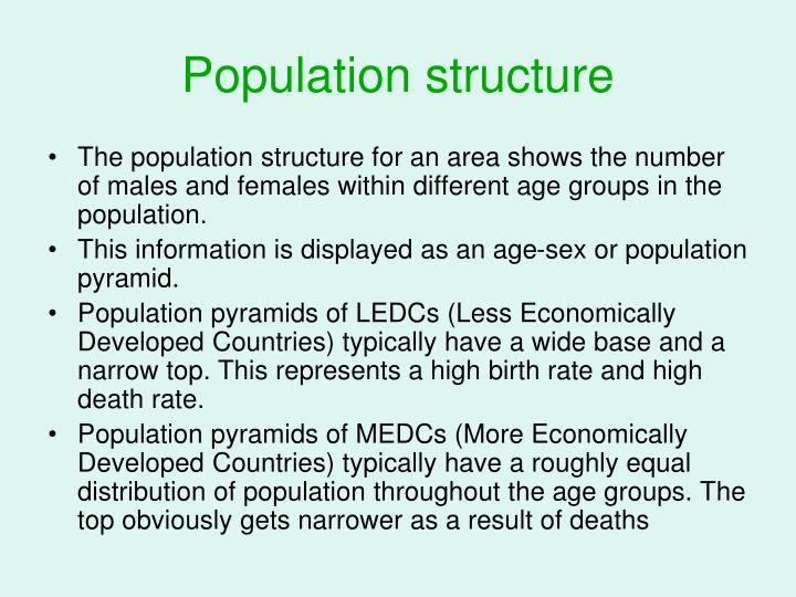 Population structure
