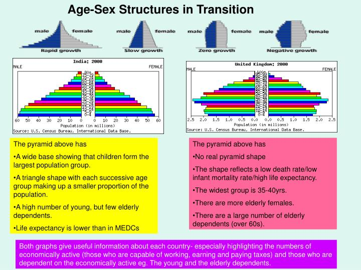 Age-Sex Structures in Transition