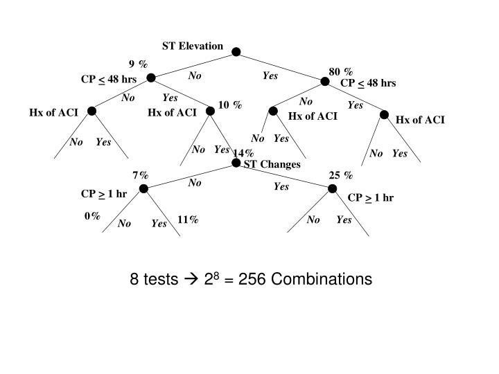 8 tests
