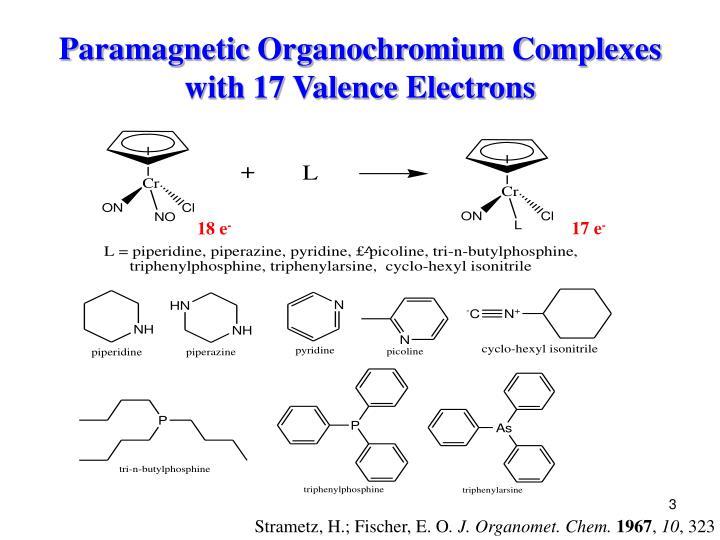 Paramagnetic Organochromium Complexes