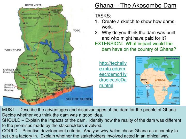 Ghana – The Akosombo Dam