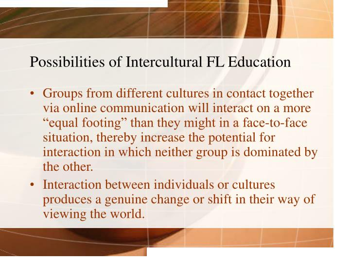 Possibilities of Intercultural FL Education